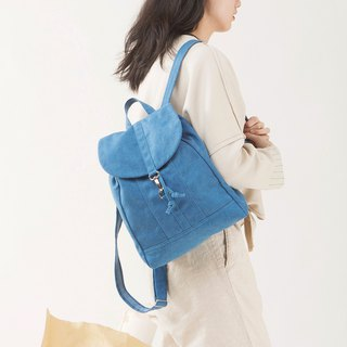 Limited sale canvas bag after the backpack small wash canvas craft retro sense 2 color optional