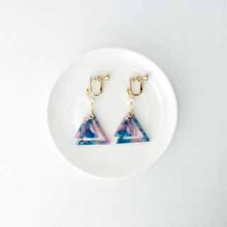 CircleDot triangle triangle earrings earrings ear clip ear clip
