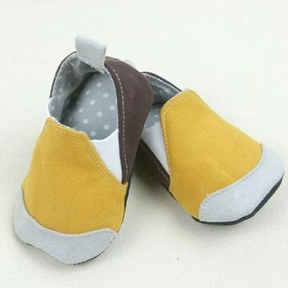 Va handmade shoes series mustard yellow coffee hit hard and soft-soled shoes personality