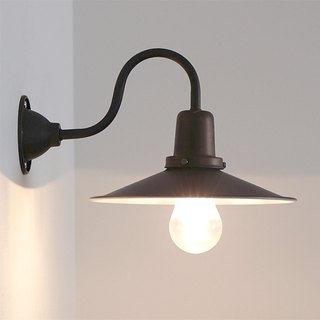 LICHT retro industrial style bronze black wall lamp