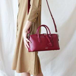 P i L L o w  Dark Red - Genuine Leather Bag (Cow Leather)