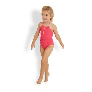 ANNABELLE: Bandeau one piece swimwear for girls
