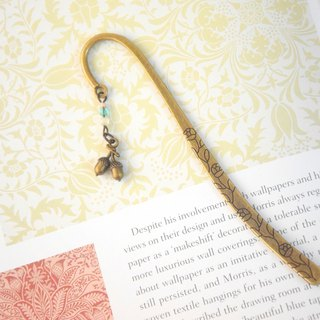 Cute Oak Nut Bookmark