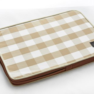 Lifeapp Sleeping Pad Replacement Cloth --- S_W65xD45xH5cm (Brown White) does not contain sleeping mats
