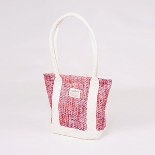 Halo Tote Fleur tote hand-woven shoulder bag
