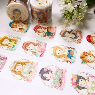 / Seasonal Girls / Masking-tape / 4cm /
