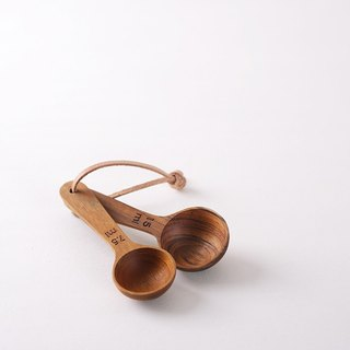 • [Mi new teak hand spoon dessert spoon] / teaspoon teaspoon / wood spoon