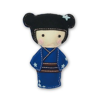 Fairy Land [Material Pack] Japanese Doll - Blue
