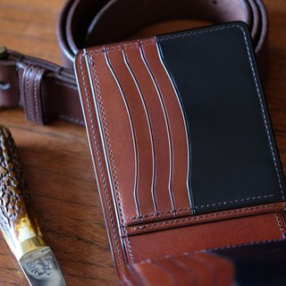 Mildy Hands - SWC01 - Short clip / wallets (Japanese Oil Cordovan horse hips)