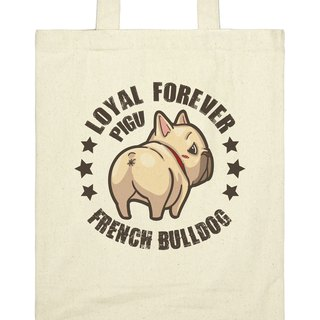 ※ ※ law a God fighting Pigou series canvas bag Meng [back]