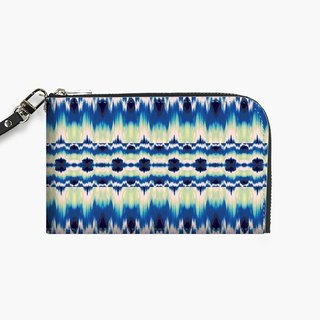Snupped Isotope - Phone Pouch - Sentha Ikat Blue
