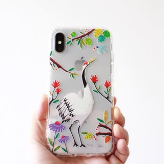 Red-crowned Crane phone case _ iPhone, Samsung, HTC, LG, Sony