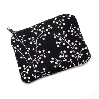 Zipper pouch / coin purse (padded) (ZS-215)