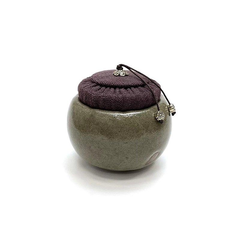 陶作坊│老岩泥冷杉茶杯罐