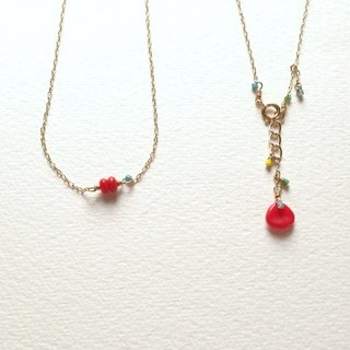 Poppy(necklace)