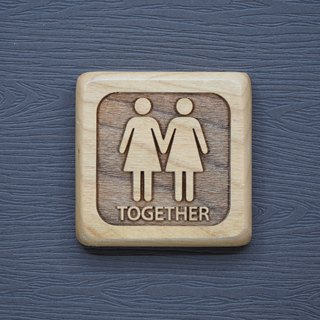 Log Small Magnet Together Girlfriend