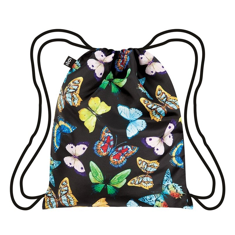 Backpacks LOQI beam port │ butterfly black BPWIBU
