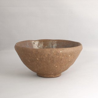 Brown cosmetic rice bowl