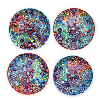 Five petal flower series - plate (randomly shipped in color)