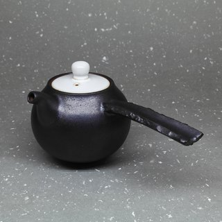 Xuanyuan bend mouth urn-shaped side of the teapot hand pottery tea props