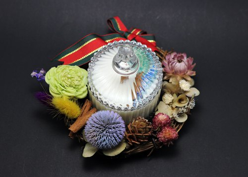 Christmas special Christmas garden 80g fragrance soybean candle matching plus purchase price