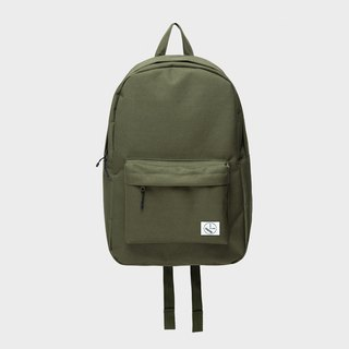 Original color simple backpack:: Army Green::