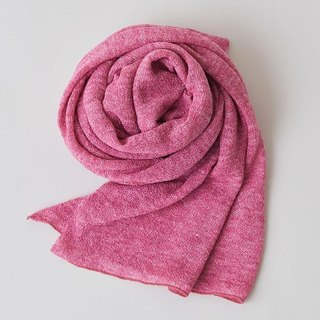 Linen Knit Stall Rose Pink