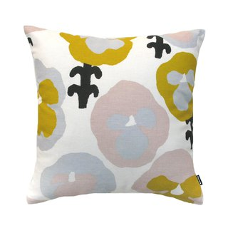 KAUNISTE Cotton Pillow Holder - Yellow Pansy