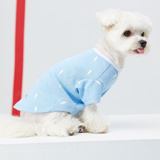 Small V-neck cardigan pet clothing