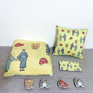 FunPrint customized Lya Series Blanket+key ring*4