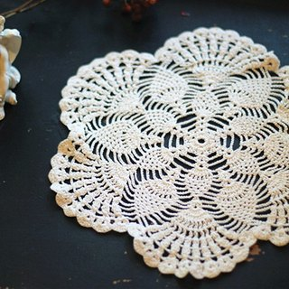 [Good Fetish] Germany Vintage Snap Round antique lace lace piece -010