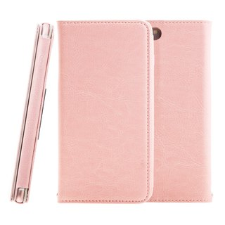 SIMPLE WEAR Apple iPhone 7 Plus dedicated CALM leather case - Pink (4716779656350)