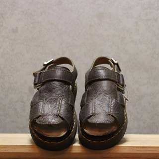 Tsubasa.Y Ancient House Dark Brown 005 Martin Sandals, Dr.Martens England