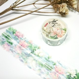 [Summer Flower Festival] Lotus Paper Tape