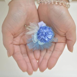 Baum Flower Hairpin Blue