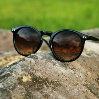 Sunglasses│Vintage Round Frame│Brown Lens│UV400 protection│2is AngusA2