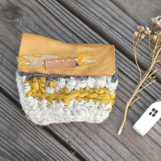 Eco-friendly reusable cloth coin purse - Rice