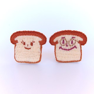 <Honey pack and honey bag wife> x embroidery brooch / pin / buckle needle (single section)