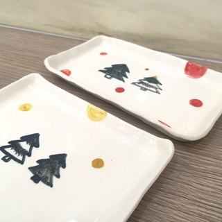 Christmas Series / Small Ceramic Plate