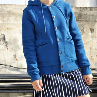 Parka with Detachable Liner - Denim Blue