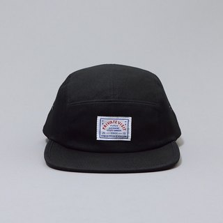 Private Visit Team Cap five split cap - Black