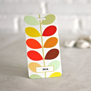 Customizable Luggage Tag Cute Design Custom Print Name Email Tel