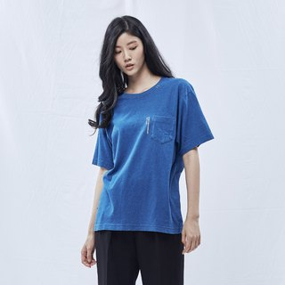 DYCTEAM - Indigo Pocket Tee (Blue)