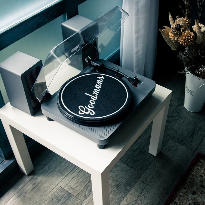 [Taste of life] Goodmans MANCHESTER Manchester Classic Vinyl Record Player