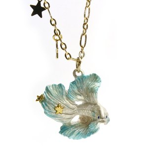 Betta Half Moon Beta Necklace NE 392