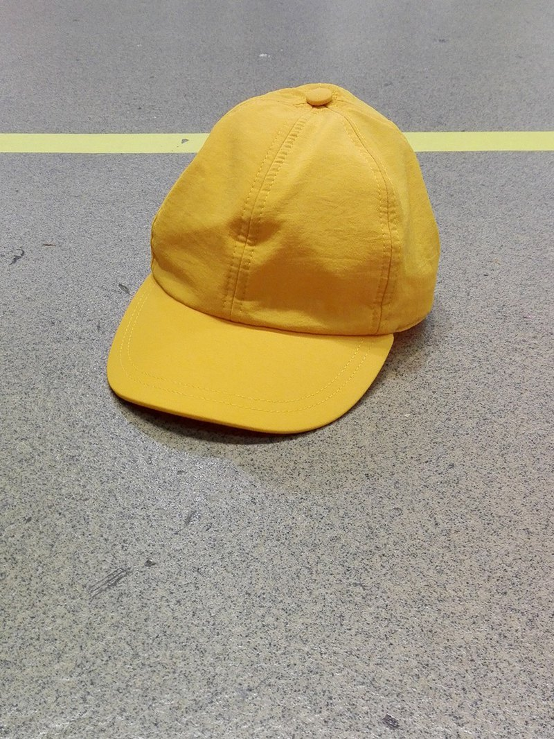 Tactel Cap in Yellow