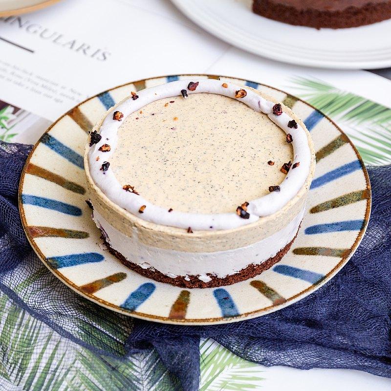 奶茶藍莓想享/生日蛋糕/生酮/甜點