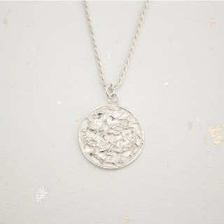 Southerly studio F03 lucky coin silver pendant chain