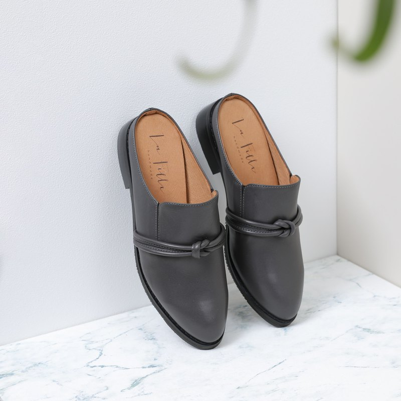 Simple Muller Shoes _ Grey