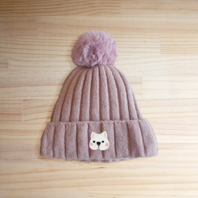 [Q-cute] fur cap series - dog head / customized / ball cap